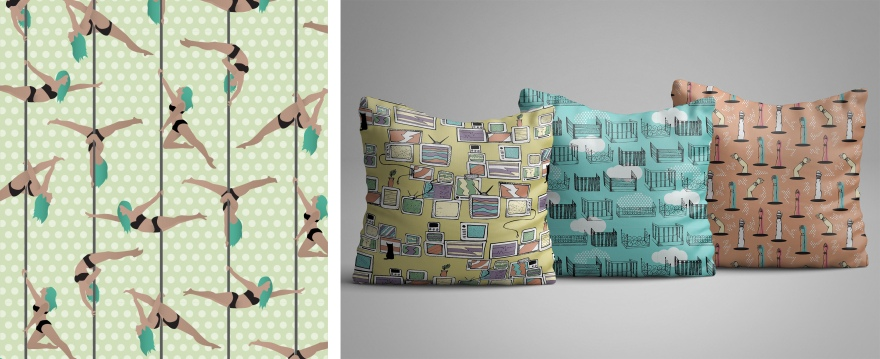 estampa_poledance_almofada_pillow_colorful_pattern